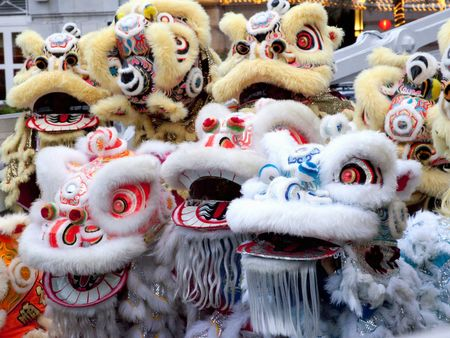 GongXi Lion for Chinese New Year photo
