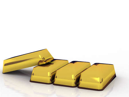 Bars of gold.