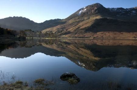 Reflections of Buttermere Stock Photo - 16401281