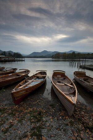 Derwent Water Boats Stock Photo - 16657585