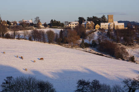 cotswold: Cotswold wintertime