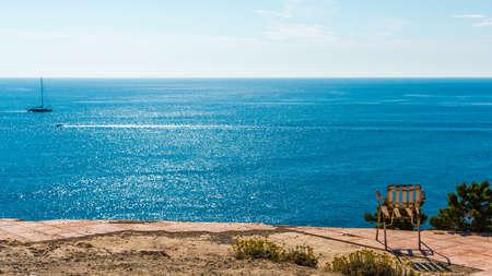 take a far view to the sea