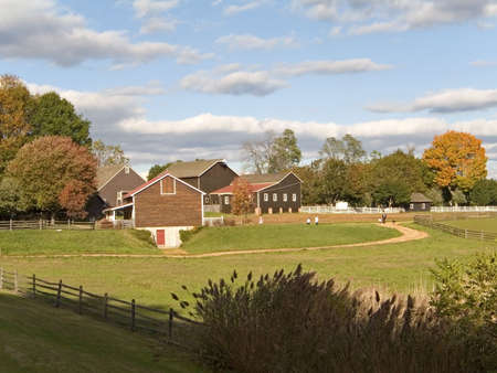 This is a shot of the historic Long Street Farm located in Holmdel NJ. Stock Photo - 385139