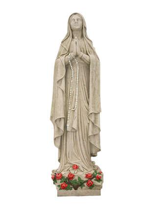 이 마리아 메리의 동상입니다. 스톡 콘텐츠 - 394330