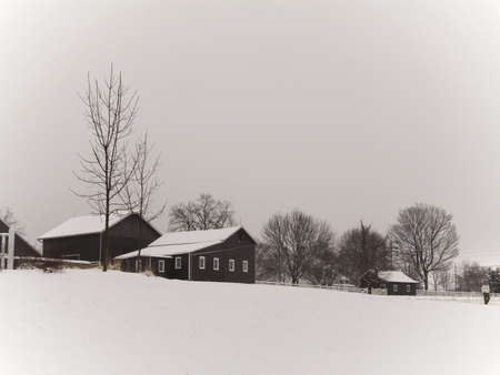 depicts: This photo depicts the historic Longstreet Farm located at Holmdel State Park in Holmdel NJ.
