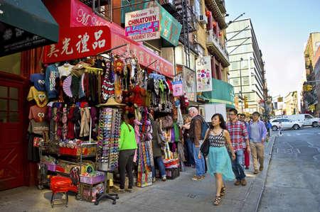 A street view of China Town in New York City. Sajtókép