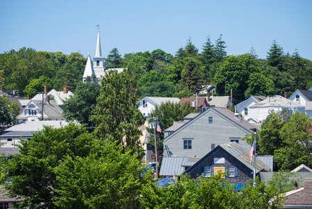 martha: MARTHA S VINEYARD, MASSACHUSETTS USA - June 26  A View of the buildings in  Martha's Vineyard on July 26, 2011  Martha's Vineyard is a popular island off Cape Cod in Massachusetts