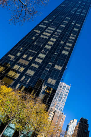 NEW YORK-NOVEMBER 24 - Looking up at the Trump World Tower on  November 24 2011 in New York City. Editorial