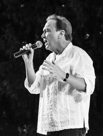 Manalapan, New Jersey JUNI 20 - David Cassidy in concert op 20 juni 2015 in Manalapan New Jersey.