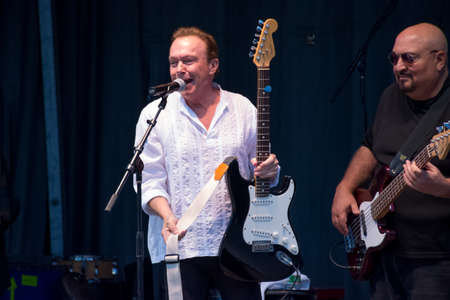 pop idol: MANALAPAN, NEW JERSEY -JUNE 20 - David Cassidy in concert on June 20 2015 in Manalapan New Jersey. Editorial