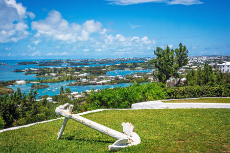 bermuda: A scenic view from Gibbs Hill looking over Bermuda.