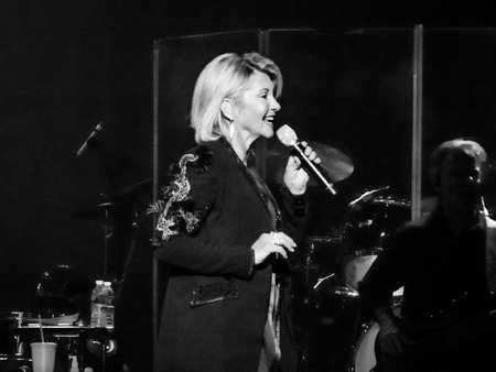 Olivia Newton John live at the Count Basie Theater in Red Bank NJ on April 12 2017.