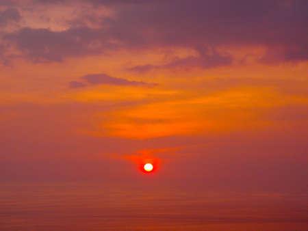 Sunset at Phuket Thailand