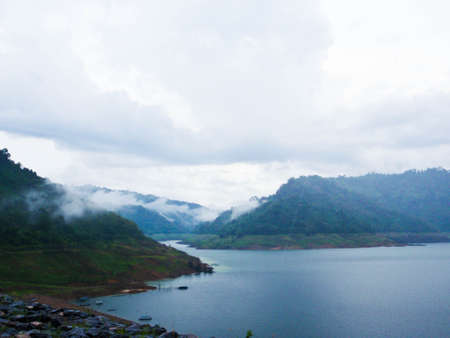 Mist at Nakorn Na Yok Thailand
