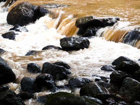 River at Nakorn Na Yok Thailand Stock Photo
