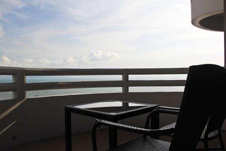 Chair On A Balcony