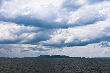 Island in Cloudy Stock Photo - 13236895