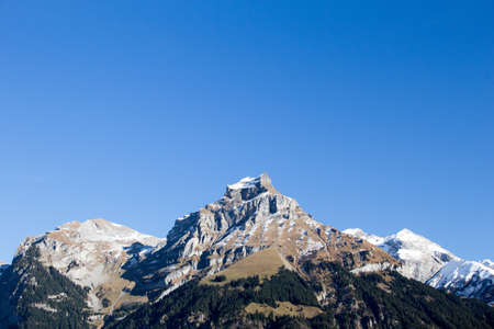 Mountain at Switzerland Stock Photo - 16979787