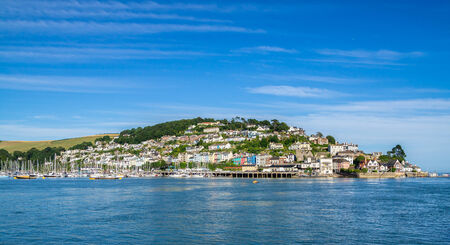 Kingswear on the Dart Estuary Viewed from Dartmuoth photo