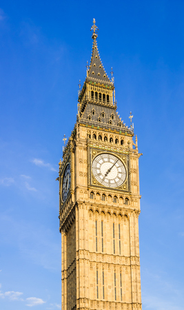 Big Ben Clock Tower, Houses of Parliament, Westminster, London