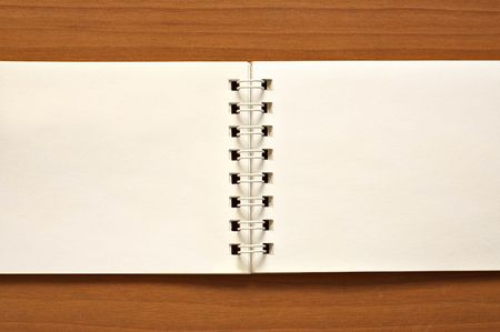 Notepad, used as a background or frame