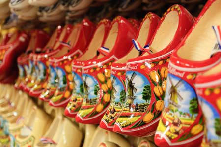 dutch: The famous Dutch wooden shoes