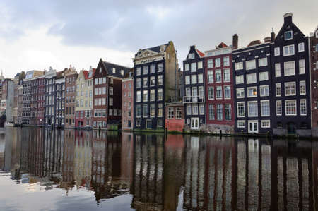 the netherlands: Classic Amsterdam architecture, the Netherlands