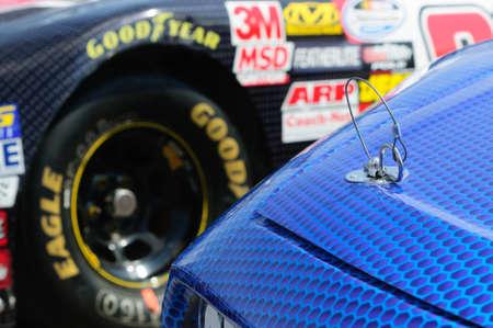 Nascar racing cars Editorial