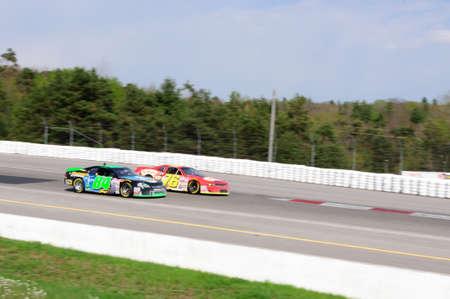 Nascar racing car Editorial