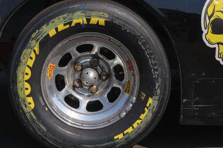 Nascar racing car wheel