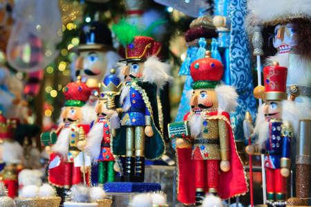 Traditional Figurine Christmas Nutcracker photo