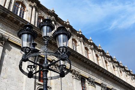 City light at day Banco de Imagens