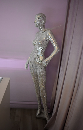Mannequin of mirrors