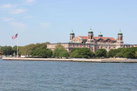 ellis: Ellis Island-New York City Stock Photo