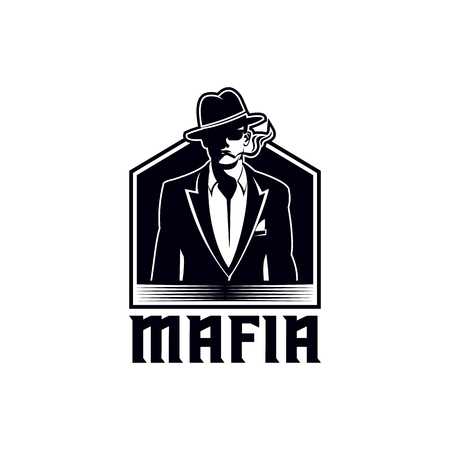 mafia vector illustration for your company or brand Illustration