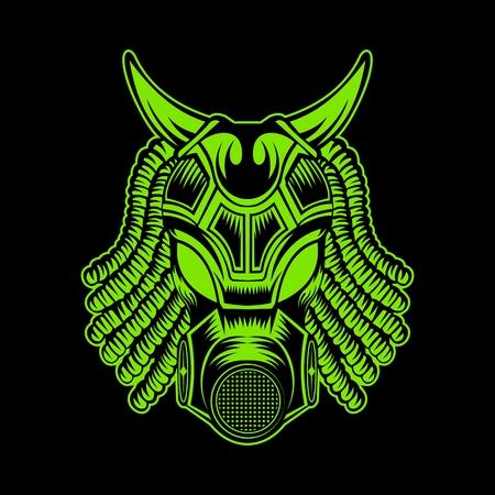 monster mask vector illustration amazing design for your company or brand Illustration