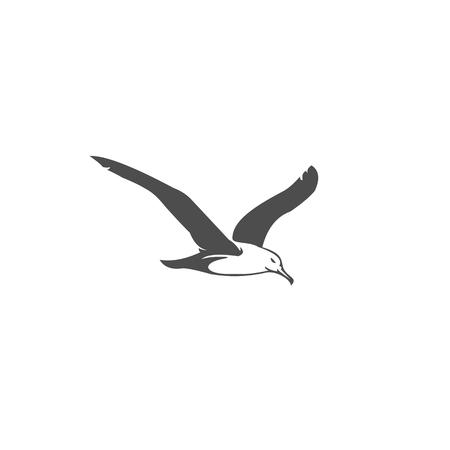 Möwenvektorillustration für Ihr Unternehmen oder Ihre Marke