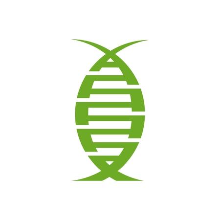 dna organic modern logo