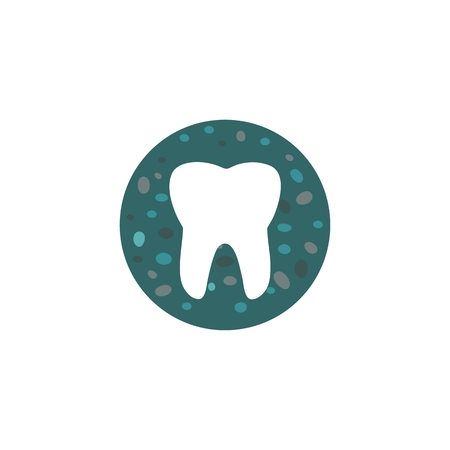 tooth stones logo amazing design for your company or brand Illustration