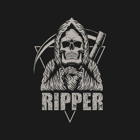 Ripper Style vector illustration for your company or brand