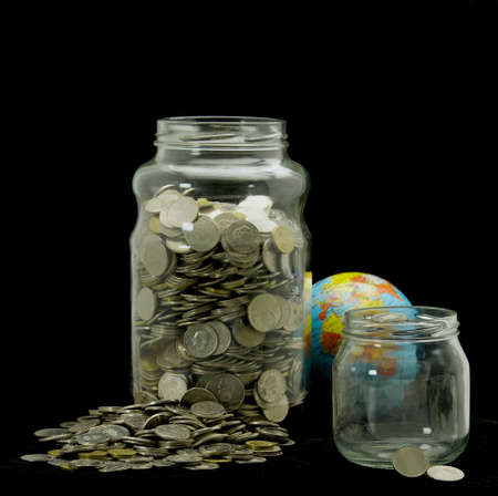 Uneven savings on Earth