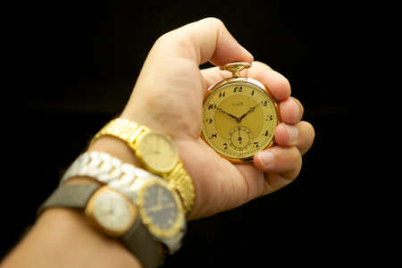 timekeeping: Timekeeping Stock Photo
