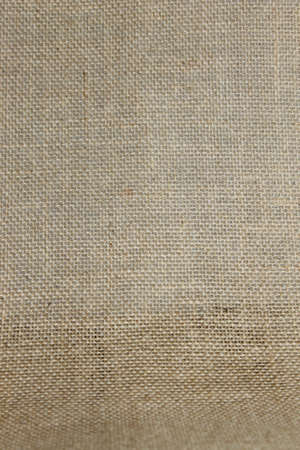 Brown burlap background.