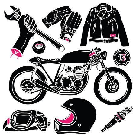 Cafe Racer Doodles