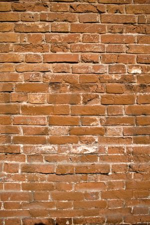 old brown brick wall abstract background photo