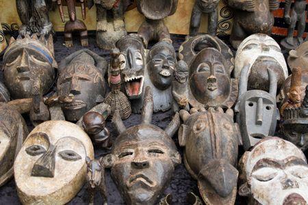 rituales: antiguo m�scaras africanas de venta