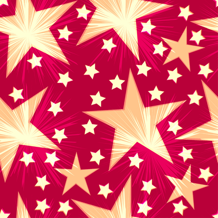 wrapper: Seamless festive wrapper. Seamless stars