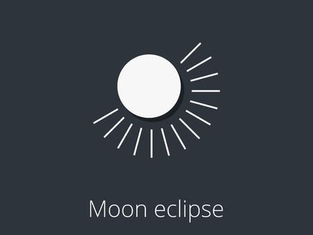 penumbra: Moon eclipse. Partial lunar eclipse.