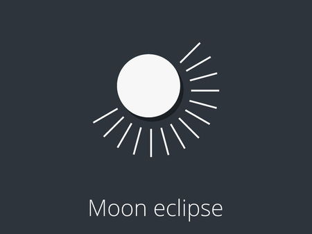 eclipse: Moon eclipse. Partial lunar eclipse.