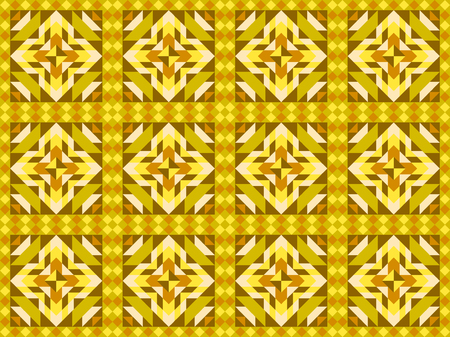 surface: Seamless mosaic pattern, ornament tiles. Vector illustration